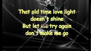 Johnny Cash - Dont Make Me Go (Lyrics) YouTube Videos