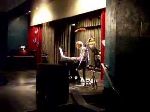 Jean-Robert at piano