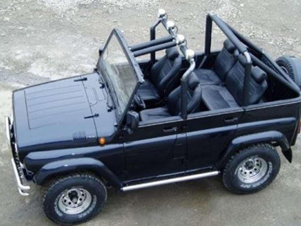 #501. Тюнинг УАЗ 469 - YouTube
