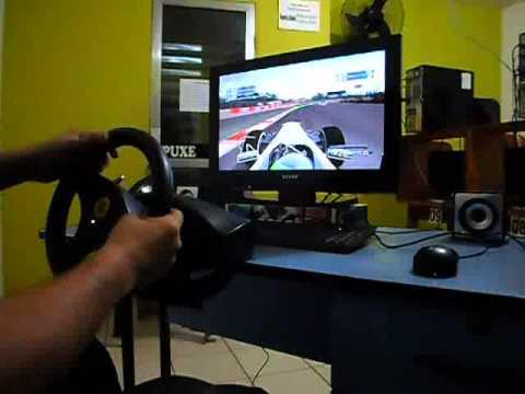 Thrustmaster Ferrari Gt Experience Volante 2 Em 1 F1 2011 20 Youtube