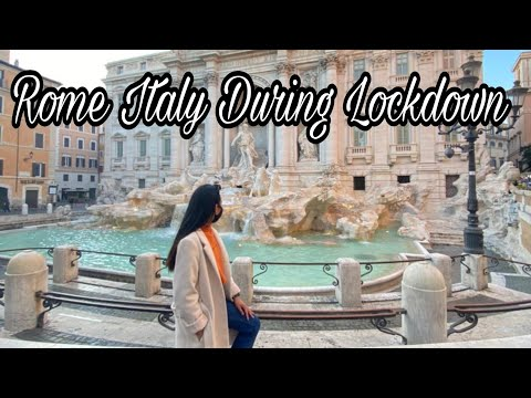 Visiting a Strange ROME ITALY without a tourists , Post lockdown Italy   New normal Travel Guide