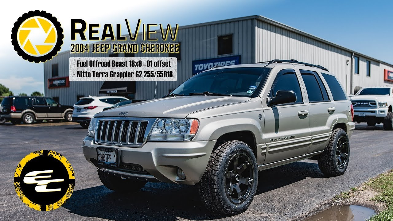 "RealView - 2004 Jeep Grand Cherokee w/ 18"" Fuel Beast & 29 ..."