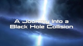 A Journey into a Black Hole Collision