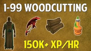Runescape 2016 | 1-99 Woodcutting Guide