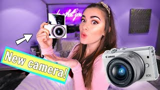 My New Vlog Camera! Canon M100!