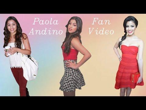 Paola Andino  Video!