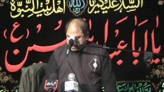 Majlis 9th Muharram 1436 H. - Zakir Syed Qamar Abbas - IMAMIA WELFARE BRESCIA ITALY