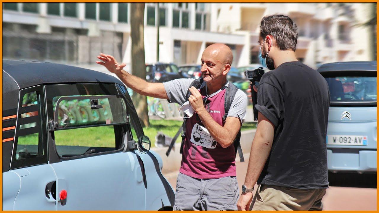 🚗 On Invite le Journaliste PP Garcia à Conduire la CITROËN AMI 🎧 @PP World
