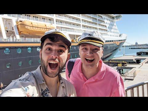 Disney Cruise Line Vlog | Day 2 | Embarkation | Disney Dream | January 2020 | Adam Hattan