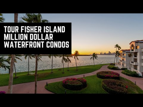 Take A Tour Of Luxury Million Dollar Waterfront Condos On Fisher Island