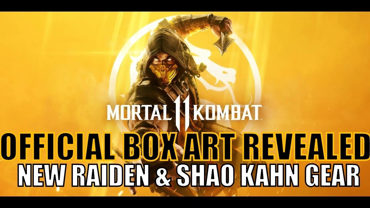 Mortal Kombat 11 Box Art Revealed / New Raiden And Shao Kahn Gear / January 17 Community Reveal