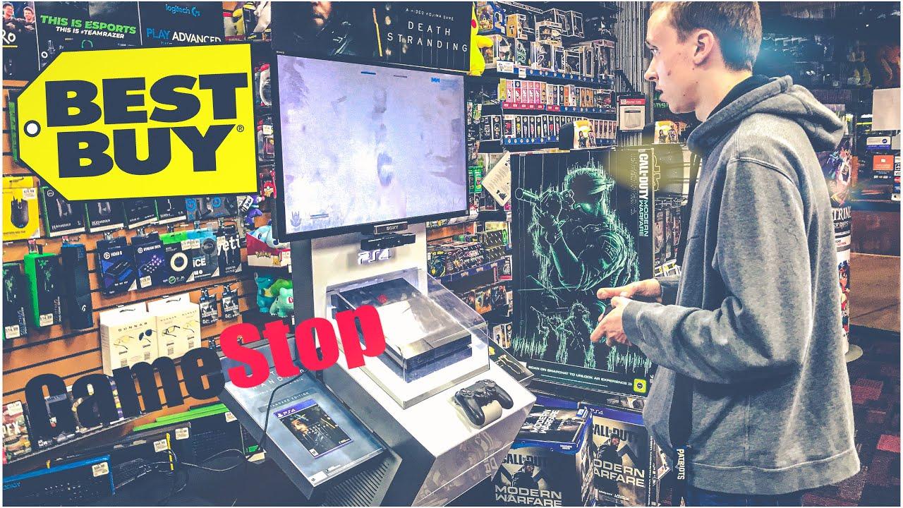 Call Of Duty Modern Warfare Midnight Release At Best Buy