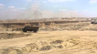 قناة السويس الجديدة :أكبر موقع حفر
