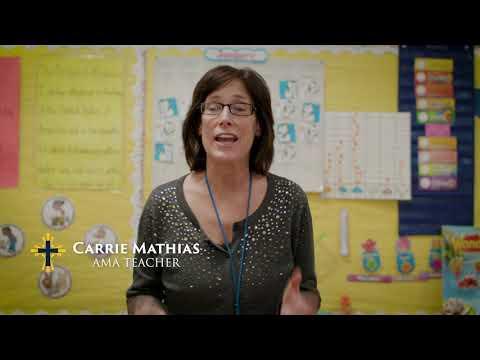Ave Maria Academy Testimonials - Mrs. Mathias