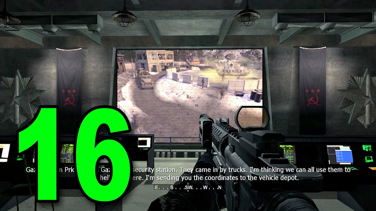 Call Of Duty 4 Part 16 No Fighting In The War Room