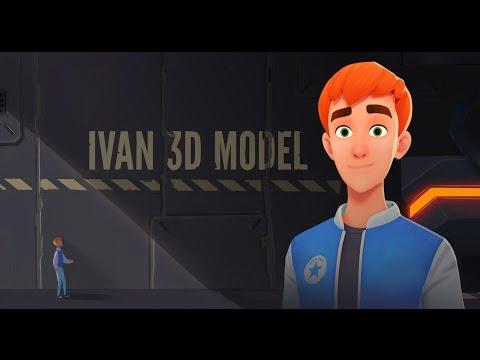 Model download: Ivan - BlenderNation