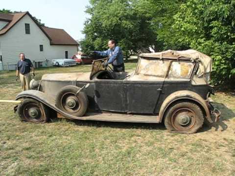Barn find 1932 Renault
