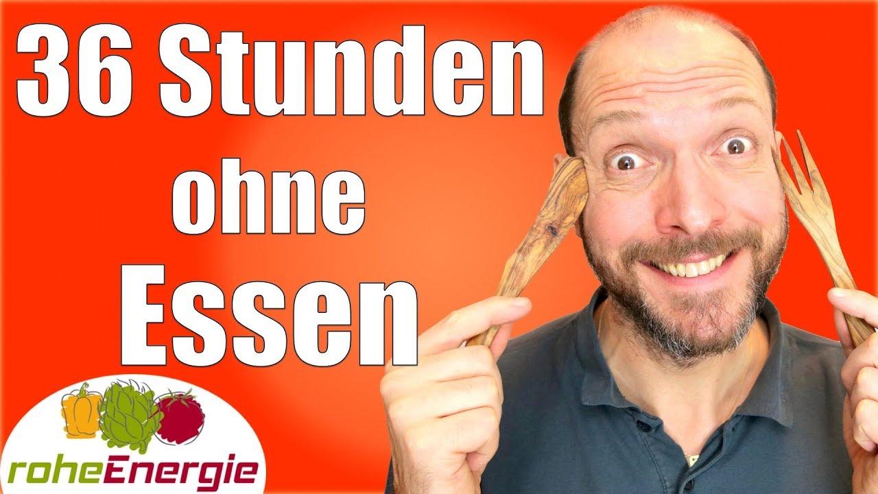 FASTEN FÜR ANFÄNGER - 36 Stunden ohne Essen Vlog
