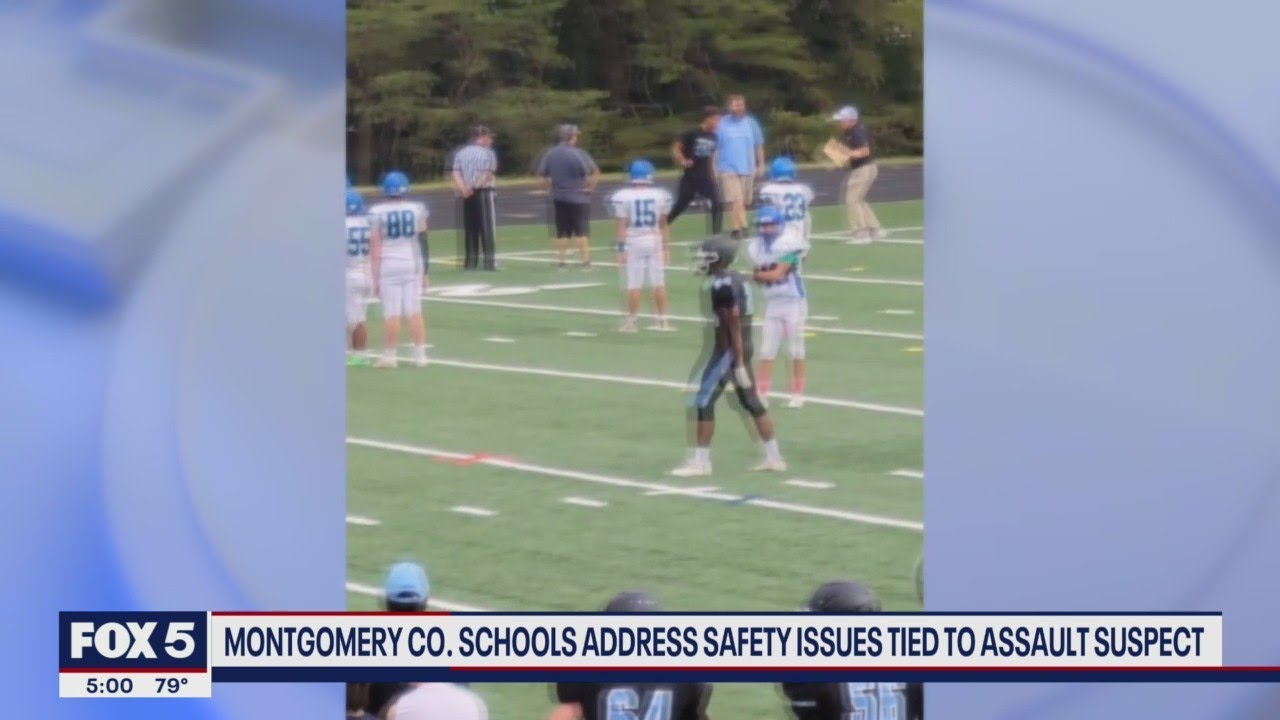 Download Teen arrested in attack at Maryland high school caught on camera in prior violent incident at footba