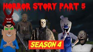 Grandpa | Rod Ice scream | Granny | Jason | डरावनी कहानी (Horror Story Joke Part 4 Season 5) MJH