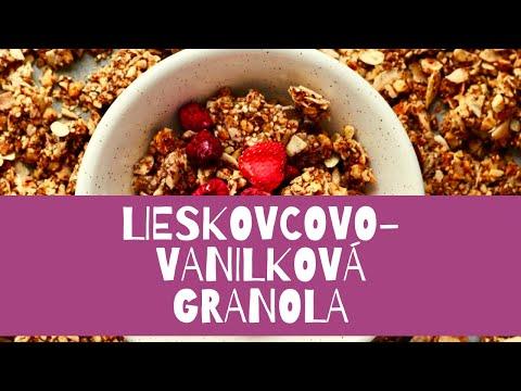 Lieskovcovo-vanilkova Granola