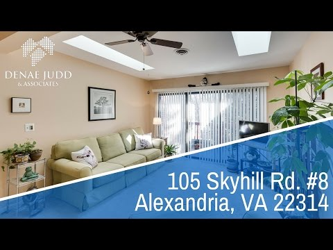 For Sale: 105 Skyhill Rd  8 Alexandria VA 22314