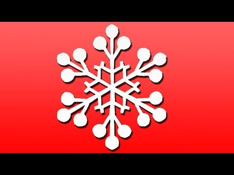 Paper SNOWFLAKE EASY - Snowflakes DIY