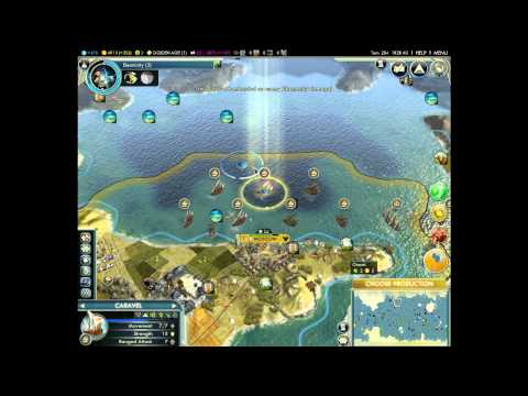 Let's Interactively Play: Civilization Part 12: FLIGHT