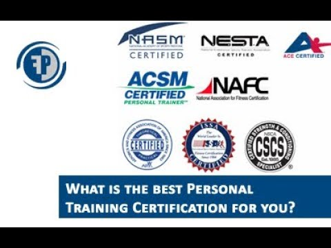 best personal training certification | which one should you get
