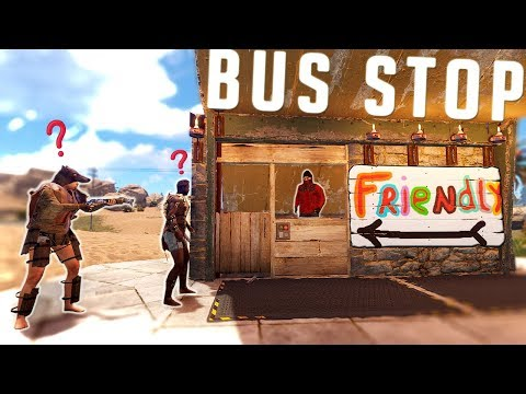 The BUS STOP TRAP BASE - Trapping OBLIVIOUS Players | Rust