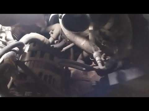 Замена пробки блока цилиндров шевроле ланос 1 часть