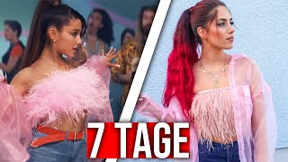 7 TAGE lang ARIANA GRANDE Outfits tragen (Experiment) Luisacrashion