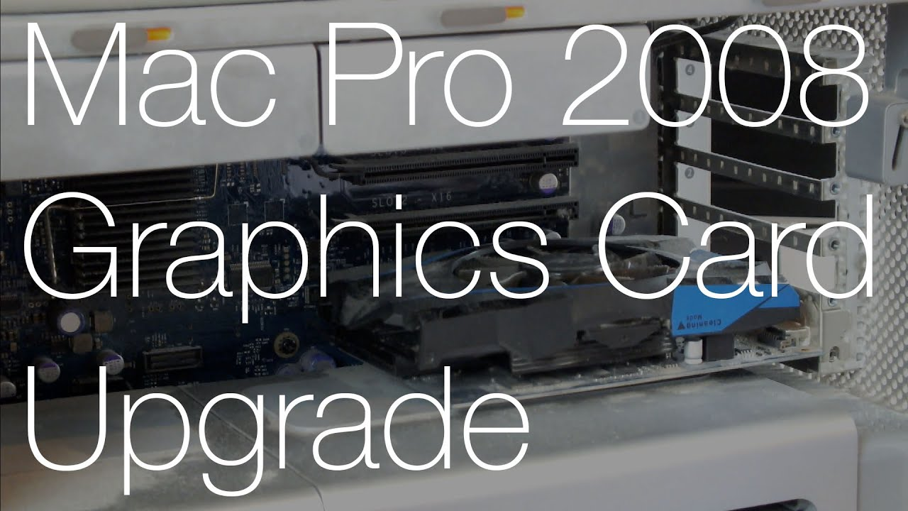 how to update graphics card mac