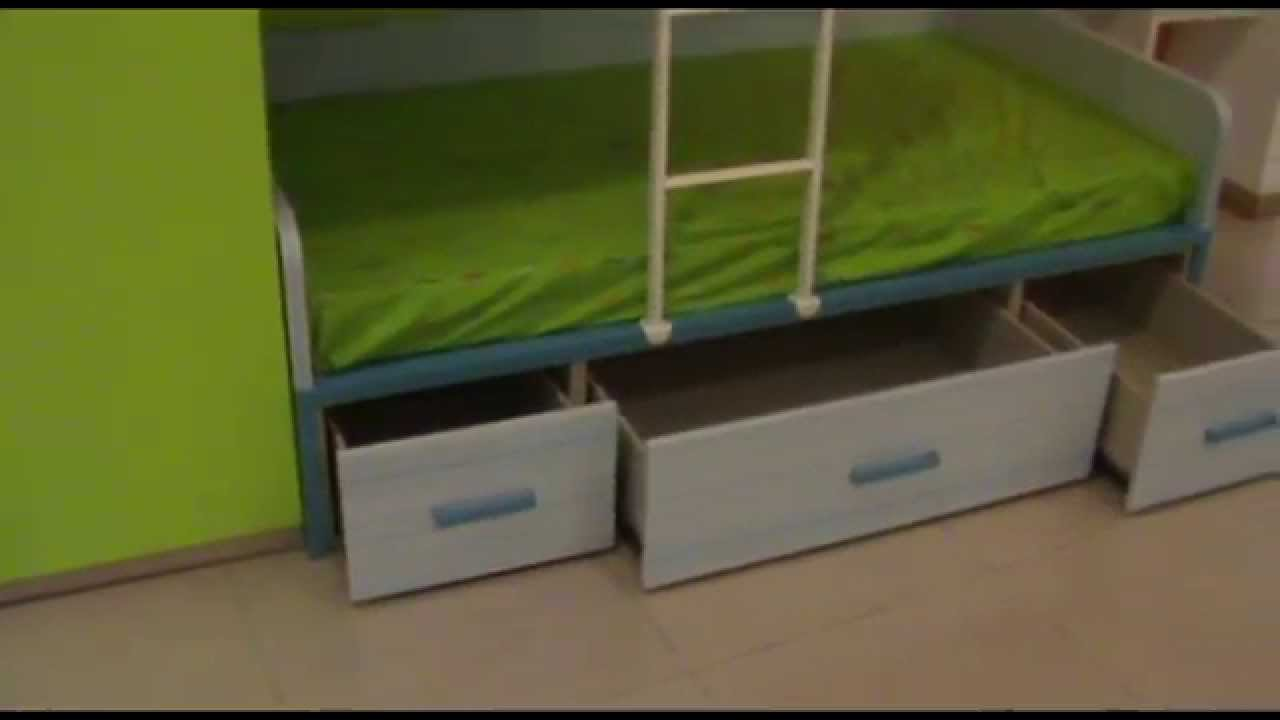 Consejos cama tren litera cama para habitaciones - Habitaciones tren juveniles ...