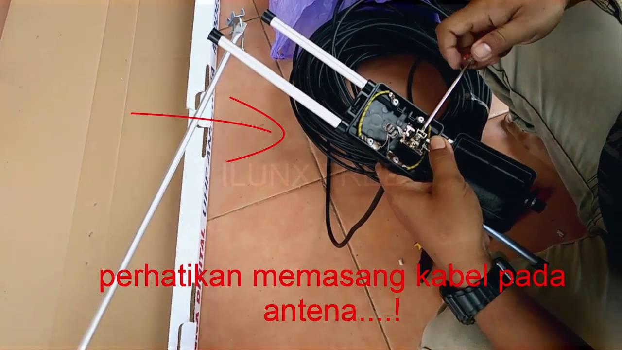 Antena Digital Uhf Model Hd U19 L Youtube