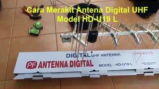 Antena Digital UHF Model HD U19 L