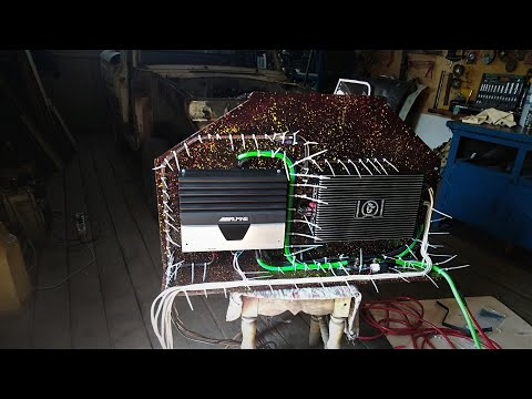Автозвук установка музыки ВАЗ 2109 собираем громкий фронт на PRIDE .