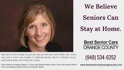 Senior home care Newport Beach