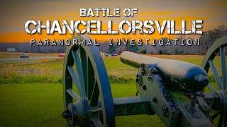 Chancellorsville Battlefield Paranormal Investigation