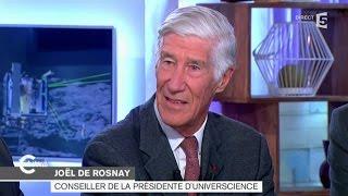 Rosetta et Philae expliqués par Joël de Rosnay - C à vous - 12/11/2014