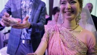 Вайшнавская свадьба Александры и Александра