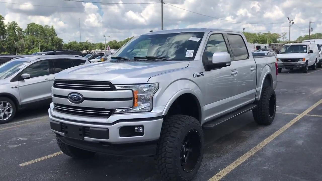 2015 F150 Lifted >> 2018 Ford F-150 lifted 6 inches on rough country VS a ...