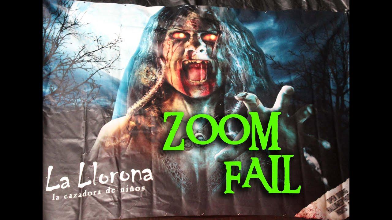 la llorona maze at universal studios halloween horror nights hollywood 2012 fail zoom