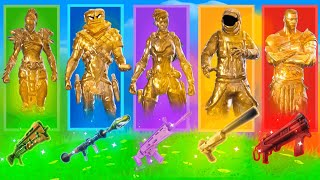 The *RANDOM* GOLD SKIN Challenge in Fortnite