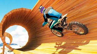 Racing on Bike Free - Gameplay Android & iOS Game - The best bike stunts game