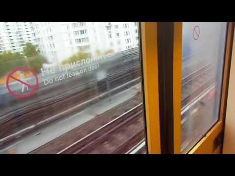"Moscow Metro Line 12 (Light Rail): 2002-2003 Metrowagonmash 81-740/741 ""Rusich"" train"