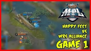 MPL-PH Game1 | Happy Feet vs WRS Alliance