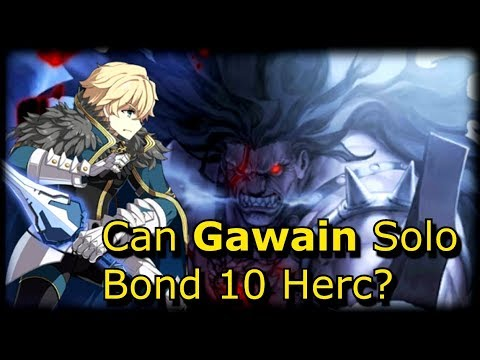 Gawain Solos Evil Raid Boss Hercules [FGO] [Memorial Stage]