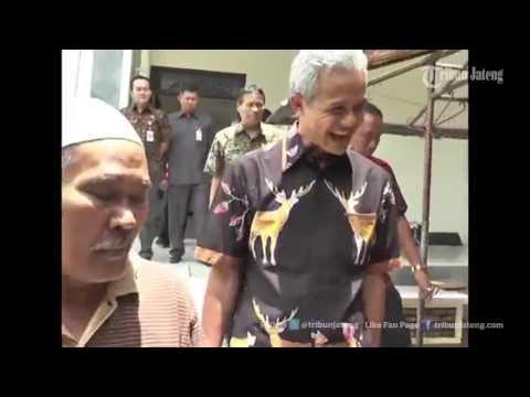 VIDEO HEBOH Ganjar Pranowo Pergoki Polisi Melakukan Pungli di Samsat Magelang