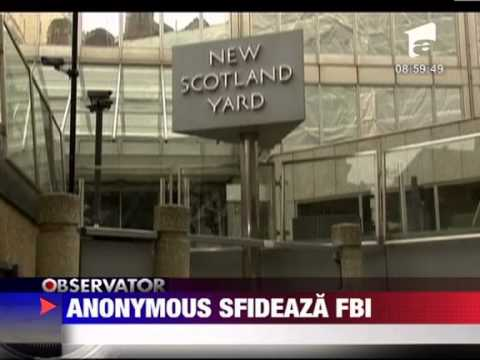 Anonymous sfideaza FBI si Scotland Yard 4 FEBRUARIE 2012